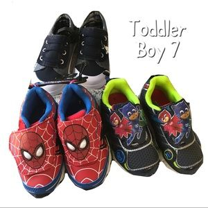 Other - 💫NWT🌼Fall Toddler Boys 3pc sneakers Set Sz:7👑